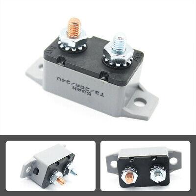 20Amp 12v Manual Reset Circuit Breaker Fuse Stud Bolt Type 2
