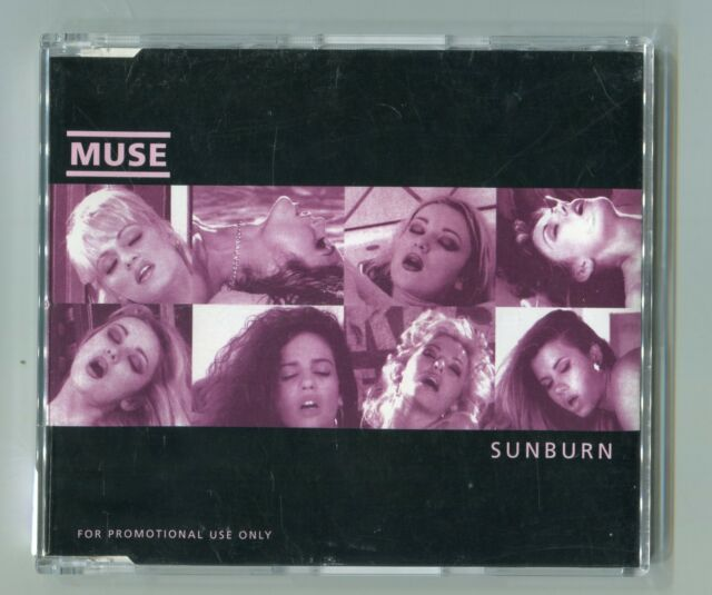 MUSE - PROMO cd-maxi - SUNBURN © 2000 - 4-Track-CD incl. info sheet + live track