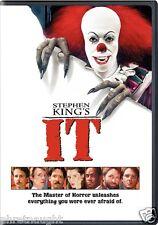 STEPHEN KING'S IT DVD - TIM CURRY - JOHN RITTER - ANNETTE O'TOOLE - HORROR