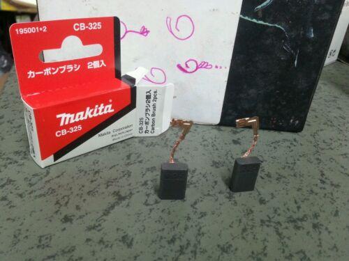 195001-2 Carbon Brush Set CB-325 Makita Genuine part for angle grinder