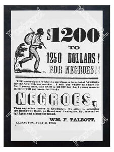 Historic-Slave-Trader-Poster-Advertising-Postcard