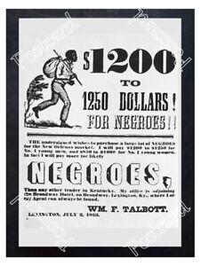 Historic-Slave-Trader-Poster-Advertising-Postcard