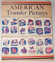 Wwii Vintage Antiq Kid Tattoos American Transfer Pictures Awsom Dtl Made In Usa