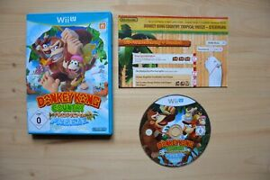 Wii-U-Donkey-Kong-Country-Tropical-Freeze-OVP-mit-Anleitung