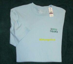 f405ae53a 2XLT XXLT Tommy Bahama Bar Code Opal Cotton Crewneck Short Sleeve T ...