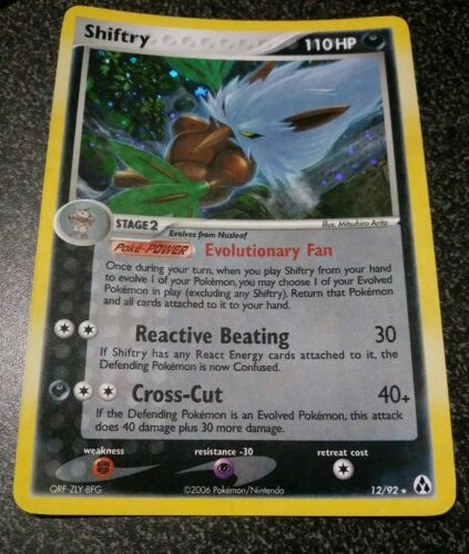 SHIFTRY 12//92 EX LEGEND MAKER HOLO FOIL RARE POKEMON NEAR MINT
