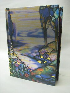 Louis-Comfort-Tiffany-River-Meandering-Lined-Blank-Journal-8-5-x-6-Magnetic