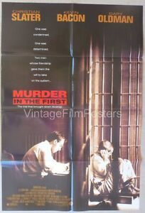 ... THE-FIRST-original-1995-mint-1-sheet-Christian-SLATER-amp-Kevin-BACON