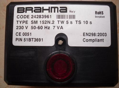 BRAHMA Control Box SM152N.2 for burner controller