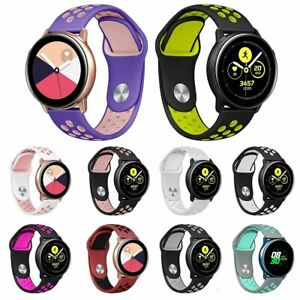For Samsung Galaxy Watch Active Sport Soft Silicone Replacement Wrist Band Strap