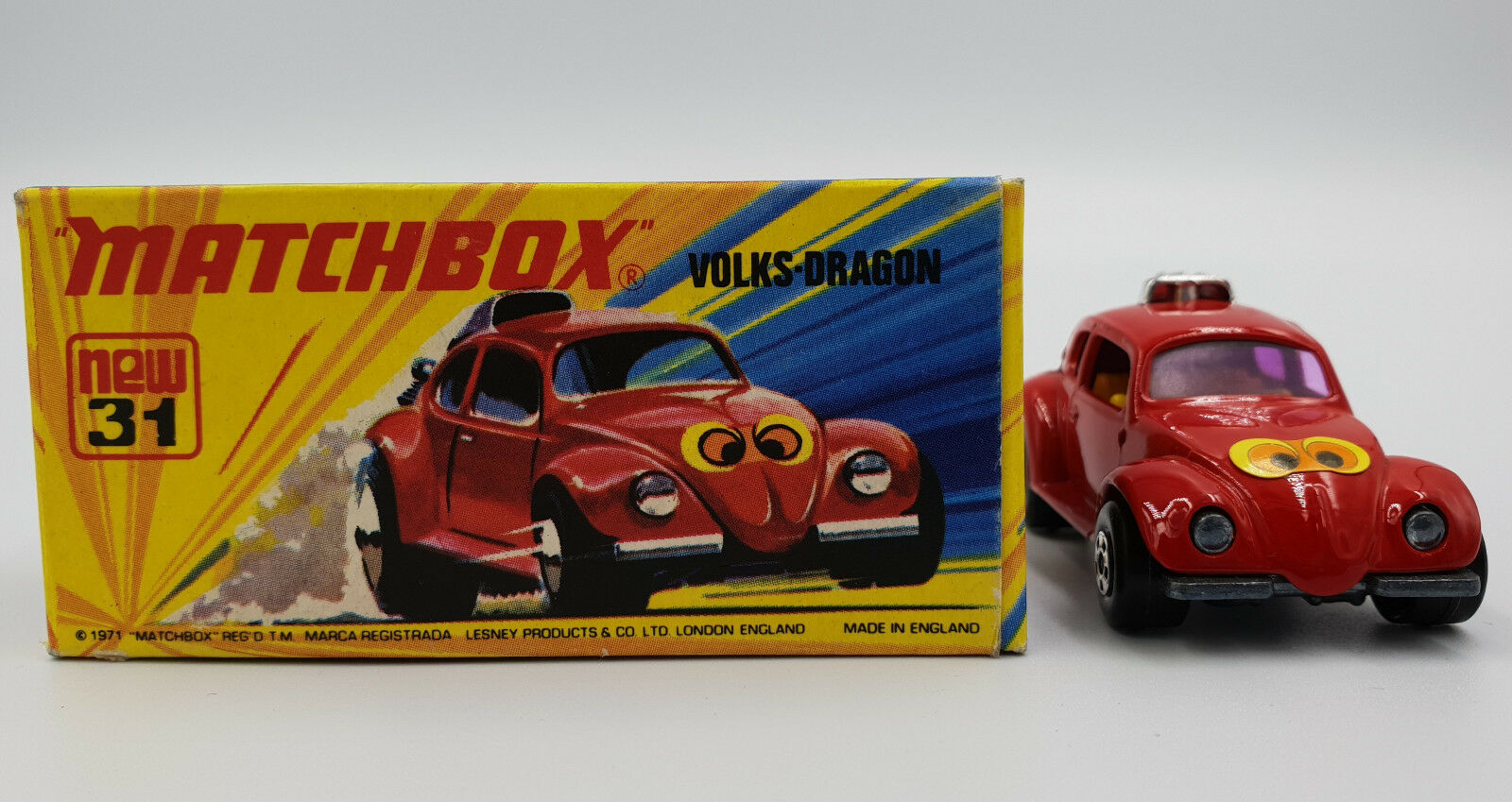 CARS   VOLKS-DRAGON (31) MATCHBOX MODEL MADE IN 1971 (DRMP)
