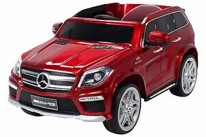 Kinder-Elektroauto-Kinderauto-Mercedes-GL63-Lizenziert-EVA-Tyres-Ledersitz-lack
