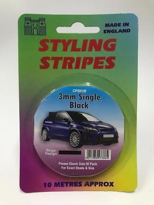 x5 Job Lot 7.5mm Double Colour Grey//Pink Coachline Pin Stripe Pinstripe Decal