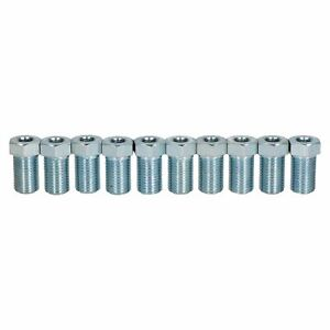 """Steel Male Brake Pipe Union Fittings 3//8 x 20 UNF for 3//16/"""" Brake Pipe 10pc"""