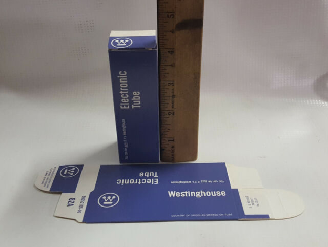 10 Westinghouse Vacuum Tube Boxes fit 6SN7GT (Cheaper than white tube boxes)