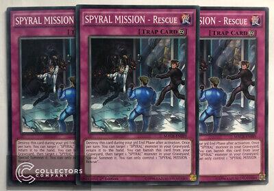Rare RATE-EN089 3x SPYRAL MISSION Near Mint 1st Edition Recapture