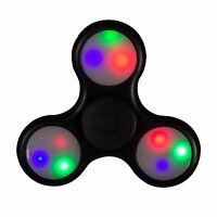 Led Light-up Flashing Assorted Fidget Tri-spinner Anxiety & Stress Relief Toy on sale