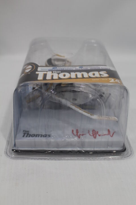 McFarlane Tim Thomas Bruins Serie 24 24 24 All-Star Level Autograph 91 100 Super Chase 7fe4f9