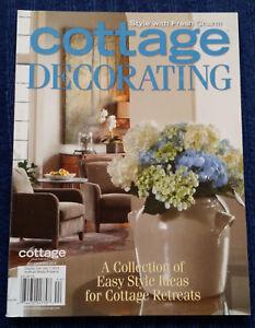 Details about THE COTTAGE JOURNAL Magazine - COTTAGE DECORATING 2014  Porches Kitchens Colors