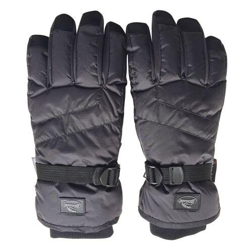Black Men Waterproof Thinsulate Winter Cold Weather Ski Snowboard Glove S,M,L XL