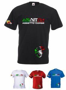 T-SHIRT-MAGLIETTA-ABARTH-ASSETTO-CORSE-RACING-COD140