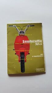 Innocenti Lui 50 CL 1969 manuale uso manutenzione originale owner's manual