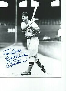Bobby Doerr Boston Red Sox Autographed  8X10 Black & White PHOTO