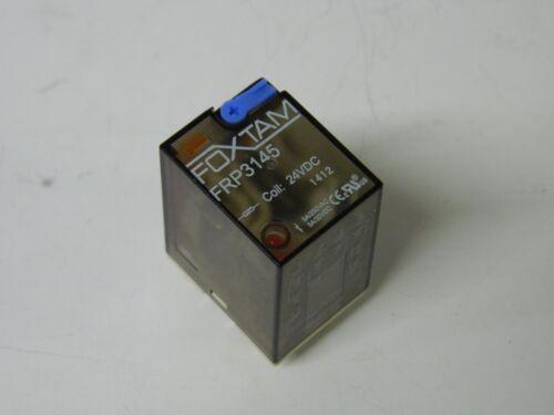 FOXTAM relé 24vdc 4X SPDT FRP-3145 14pin