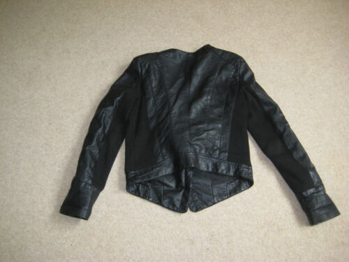Supply Thread Womens Faux Leather Jacket Small Taglia 0p0H7Txwq