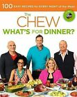 The Chew: What's for Dinner?: Food. Life. Fun by Carla Hall, Gordon Elliott, Clinton Kelly, Mario Batali, The Chew, Michael Symon, Daphne Oz (Paperback, 2013)