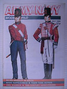 Armee-Und-Marineblau-Modelworld-Juli-1986-Militaer-Modeller-Magazin-amp