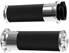 Harley FLHRCI Road King Classic 98-06Bevelled Fusion Grips Chrome by Arlen Ness