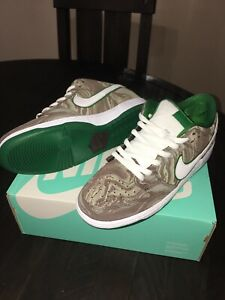 """outlet store fed74 184f2 Details about New!!! Nike SB Dunk Low Premium Men's Size 11.5 313170-213  """"Starbucks"""""""
