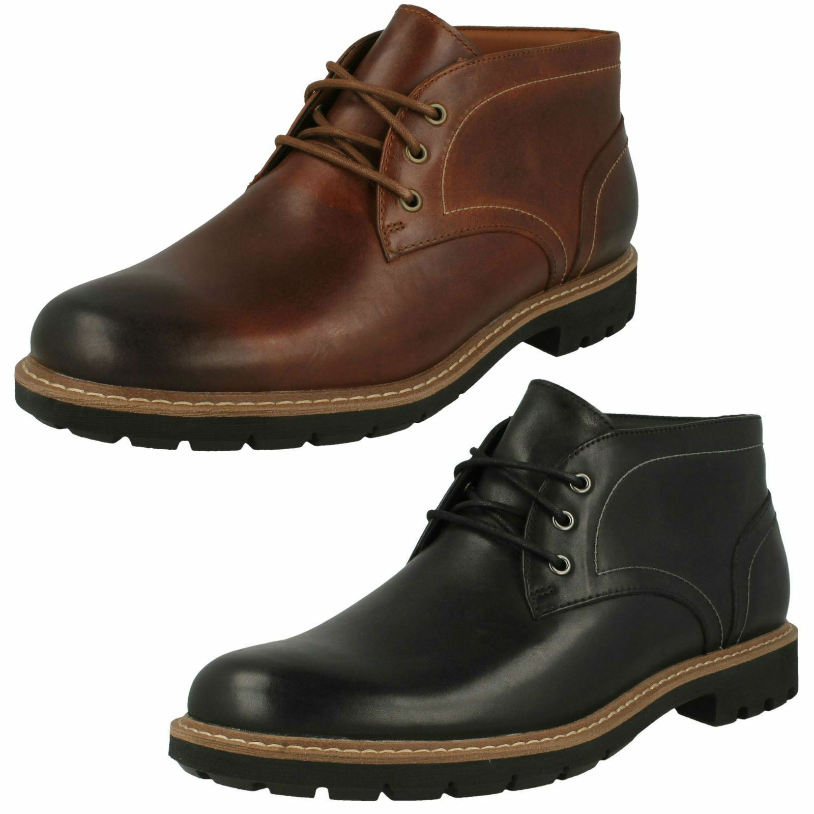 Mens Clarks Smart Ankle Boots Batcombe Lo