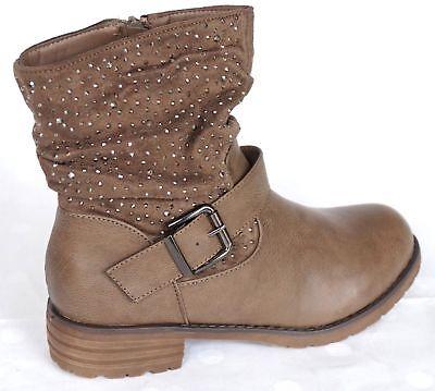 schuhe stiefeletten glitzer leichte absatz stiefelette ankle boots booties neu