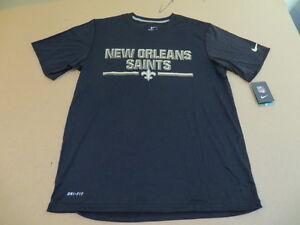 New Orleans Saints Chiseled Look Limited Ed NFL Nike Dri Fit Men s ... 39e112930