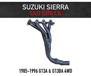 Extractors for Suzuki Sierra /& Drover 4WD 1300cc Headers FREE GASKET