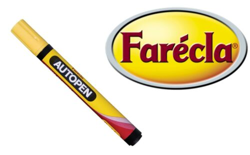Farecla Pen highlighting imperfections without permanent damage to paint work