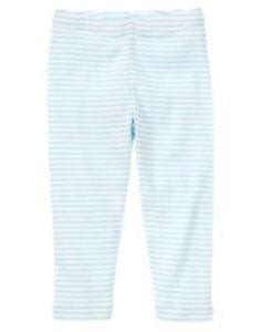 dec62e01b175a NWT Gymboree Cherry Blossom Blue and White striped Leggings pants ...