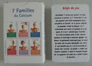 Adaptable Jeu Des 7 Familles Du Calcium / Theramex - Merck Serono / Neuf Sous Blister Prix ModéRé