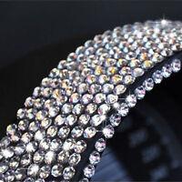 2000 3MM Stick On Diamonte Clear Gems Crystal Rhinestone Diamantes