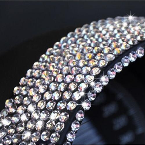 3000Pc SELF ADHESIVE STICK ON GEMS Coloured Diamonte Crystal Rhinestone Diamante