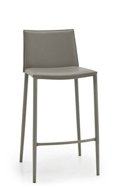 Calligaris Connubia barstool BOHEME 1393 D03 with regenerated leather taupe