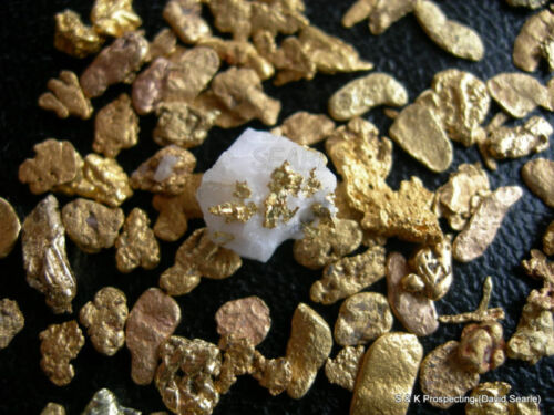 2 lbs Montana gold Placer nugget panning Sluice Box paydirt Bullion Gift bag