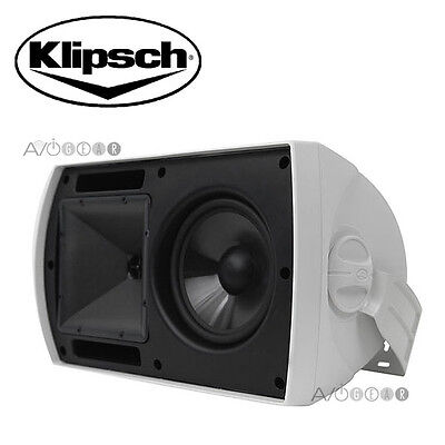 REDUCED!! Klipsch AW-650 Indoor Outdoor Speakers 340 W White 1 Pair. BRAND NEW!