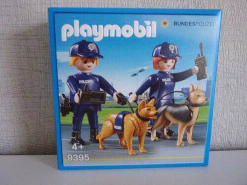 Playmobil 9395 Bundespolizei Dog Handler Nip