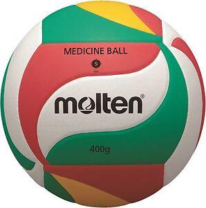 10-x-Molten-Volleyball-v5m9000-m-400g-Balon-Pesado-medicinal-de-entrenamiento