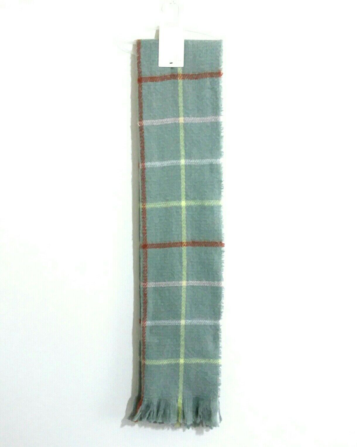 A New Day Long Teal Brushed Knit Scarf