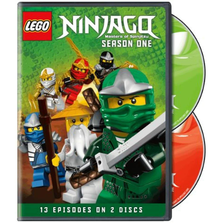 LEGO Ninjago: Masters of Spinjitzu - Season 1 (DVD, 2012, 2-Disc Set) for  sale online
