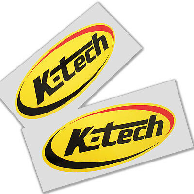 Sticker Sticker Vinyl K-Tech Suspension Autocollant Aufkleber Adesivi